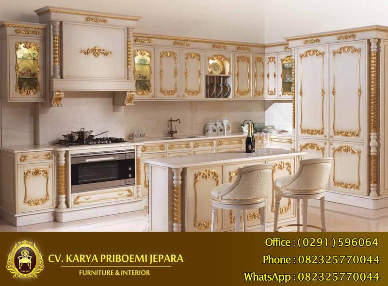 Kitchen Set Kayu Jati Pilihan Terbaik Untuk Jangka Panjang Mebel