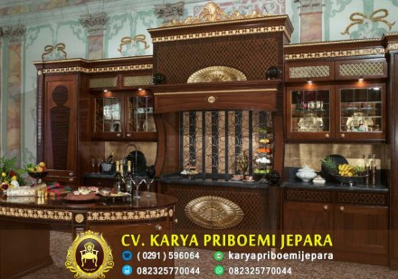Kitchen Set Kayu Jati Mewah